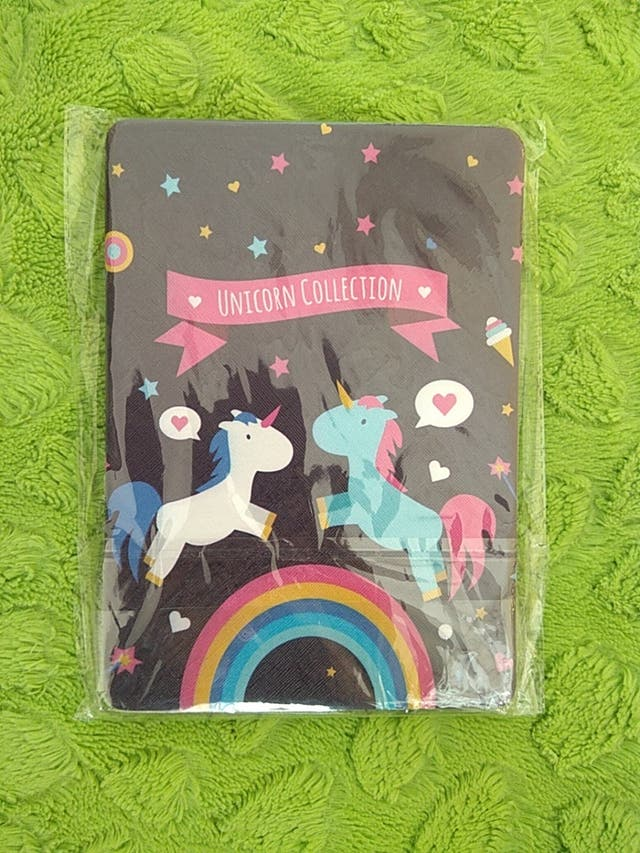 Funda tablet unicornios