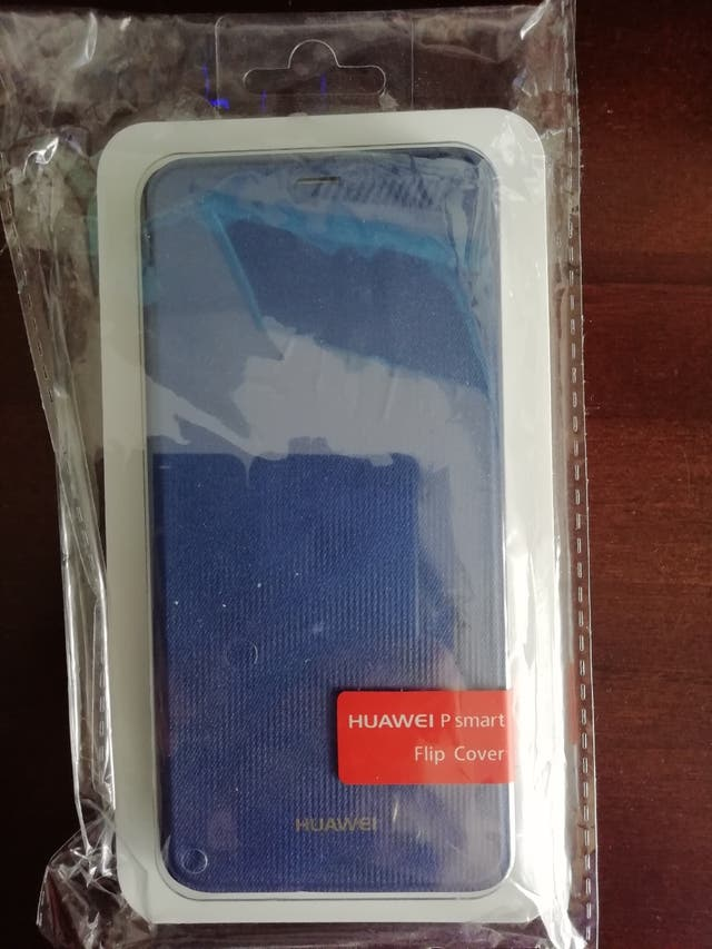 Funda Huawei P Smart azul nueva