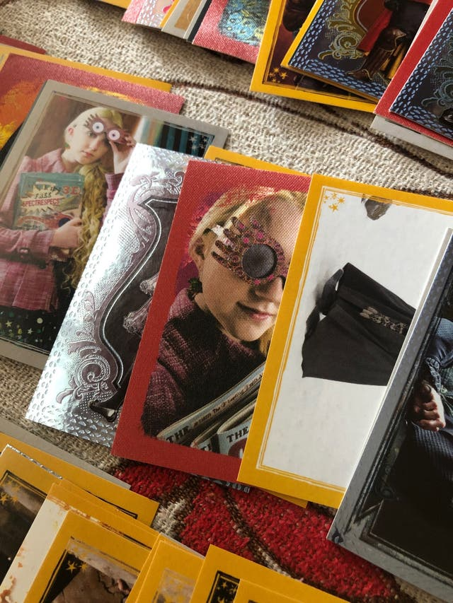 PANINI coleccion completa Harry Potter cromos