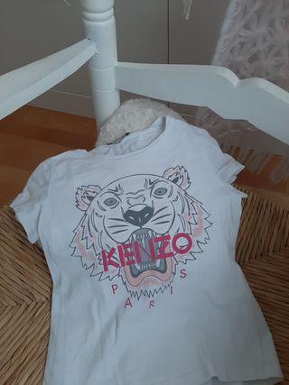 camiseta niña kenzo