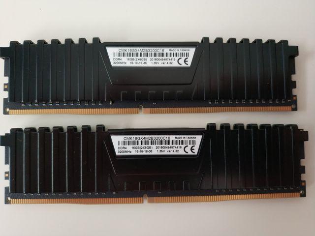 Memoria RAM 16GB DDR4 SDRAM (3200 MHz) Corsair