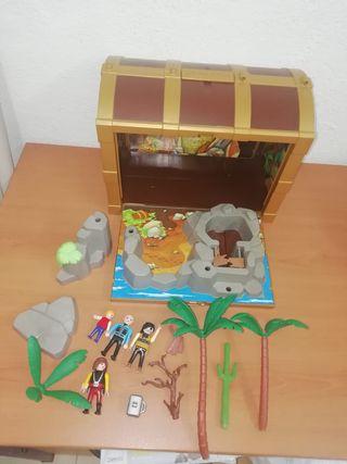 Playmobil cofre piratas