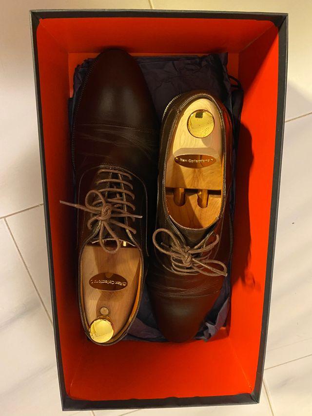 Zapatos vestir Scalpers Marrones