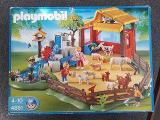 Parque de animales playmobil
