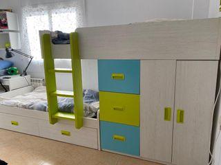 Habitación infantil-juvenil