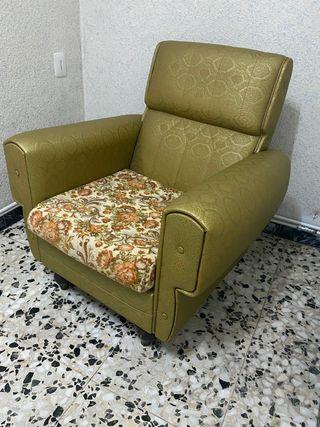 Sillón y sofà Vintage