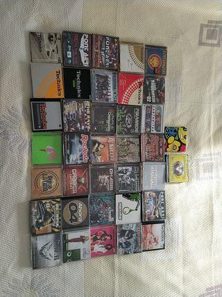 Colección de CDs de música variada