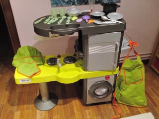 Cocina niños juguete accesorios ropa cacharros xl