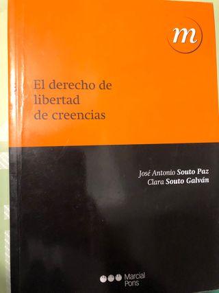 """Libro""""derecho y Libertad de creencias"""""""