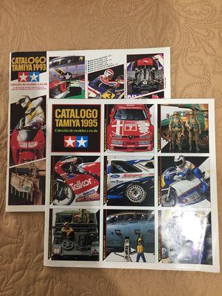 Catálogos Tamiya 1993 y 95 Robine 1994 y Estes 199