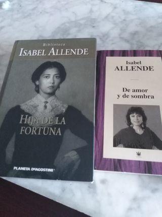 2 libros de Lsabel Allende
