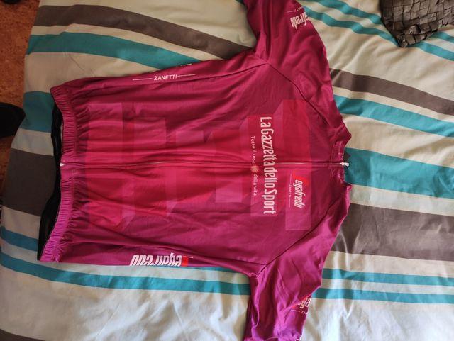 Maillot vinotinto Giro Italia