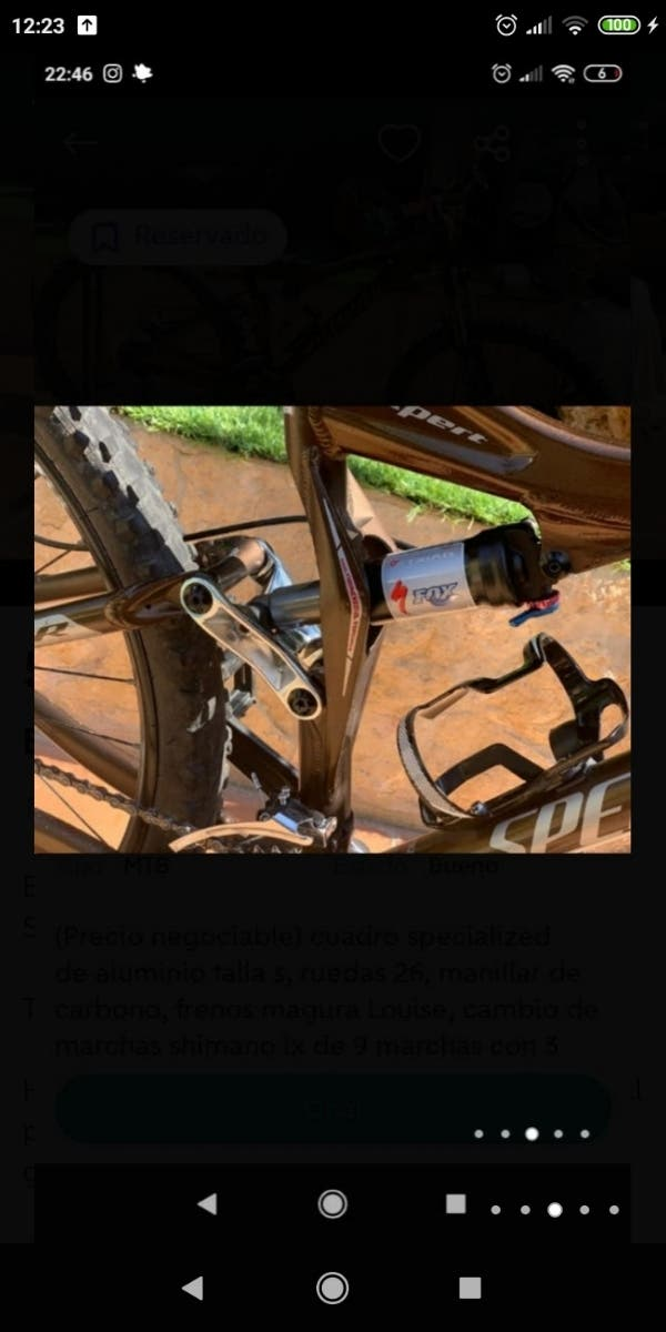 Bicicleta DOBLE Specialized FOX
