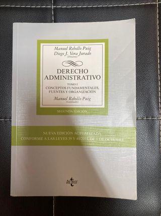 LIBRO DERECHO ADMINISTRATIVO TOMO I