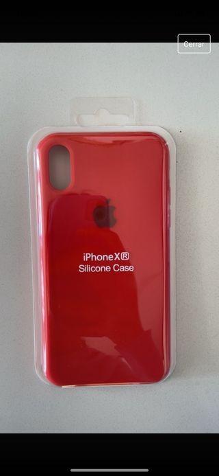 Funda roja iPhone XR