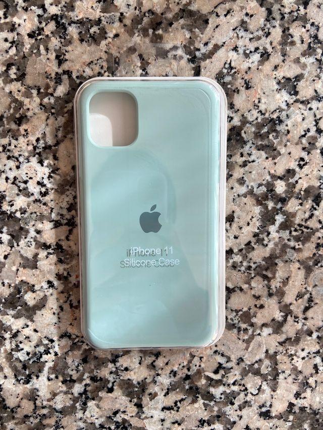 Funda iPhone 11 verde agua