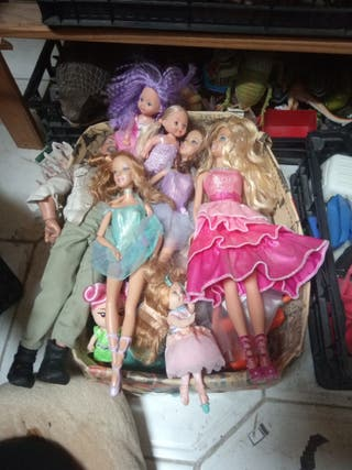 pack Barbies bailarinas y princesas
