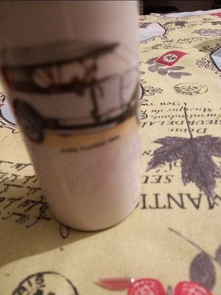 se vende botella cognac porcelana limoges, más cos