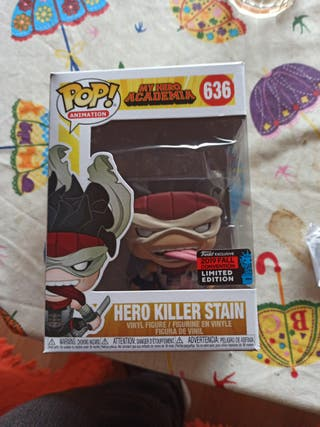 Funko pop stain my hero academia