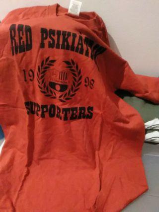 Camiseta Red Psikiàtrik F.C.Santboià talla M Nueva