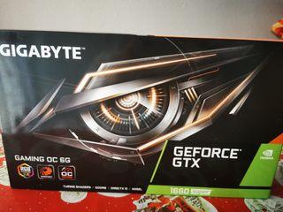 tarjeta gráfica GeForce GTX 1660, 6 GB.