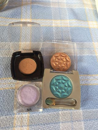 Lote sombras maquillaje