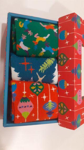 calcetines happy Socks Navidad