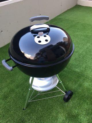 Barbacoa de carbón Weber Compact Kettle, 57 cm