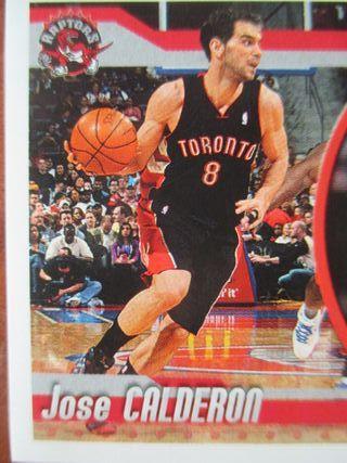 LOTE CROMOS RAPTORS NBA 2010 PANINI J.M CALDERON