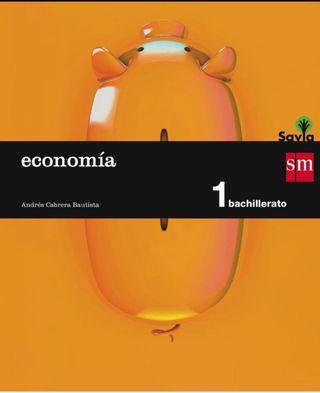 Libro economía 1º bachillerato SM
