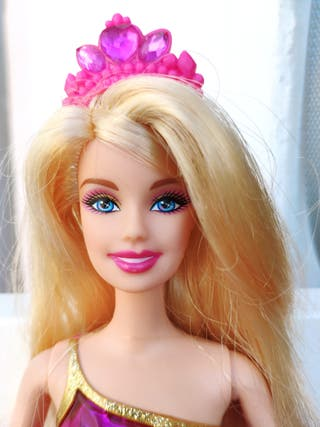 Preciosa Barbie de la Escuela de Princesas