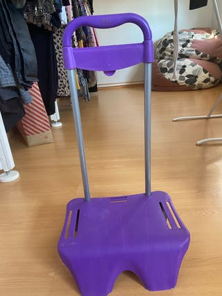 Carrito para llevar mochila