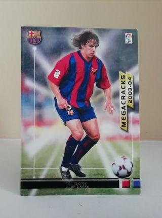 PUYOL #364 MEGAFICHAS 2003/04 F. C. BARCELONA