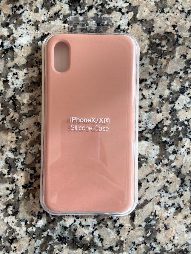 Funda iPhone X rosa