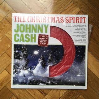 Vinilo folk Johnny Cash The Christmas Spirit