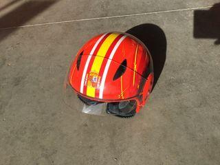 Casco moto España