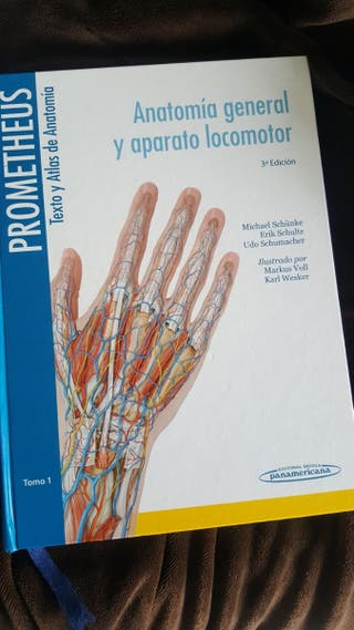 Libro Anatomía Prometheus