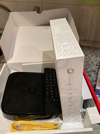 Router, wifi y mando