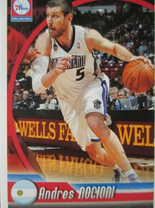 LOTE CROMOS SIXERS NBA 2010 PANINI NOCIONI