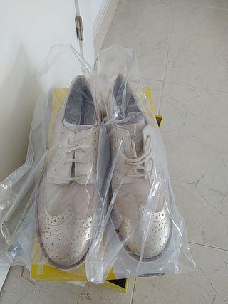 Zapatos Scholl Virginia Summer Platinum