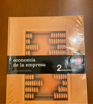 Libro Economía de la Empresa. 2º Bachillerato