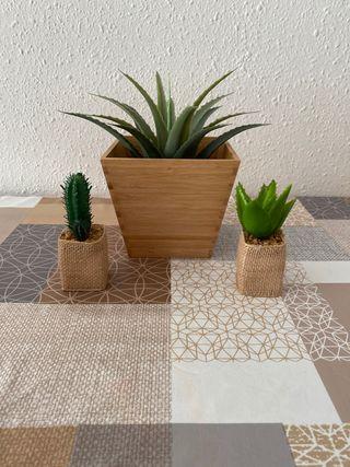 Decoración plantas artificiales