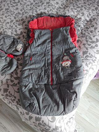 saco de invierno universal mas guantes