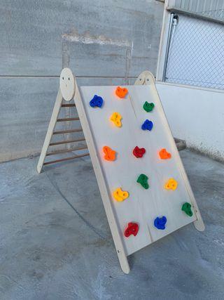 Triángulo rocodromo pikler