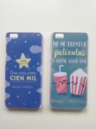 Fundas Huawei p8 lite Mr Wonderful