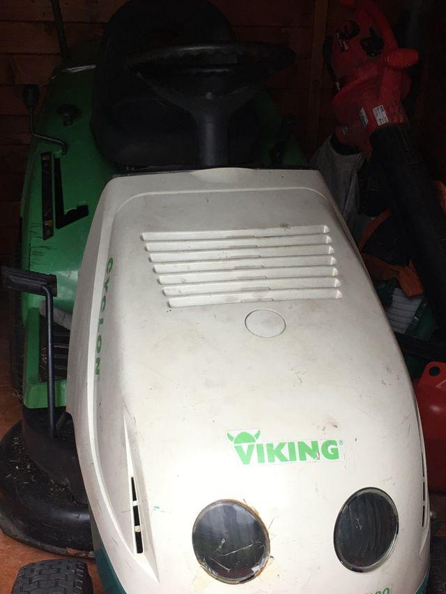 Tractor jardín gasolina