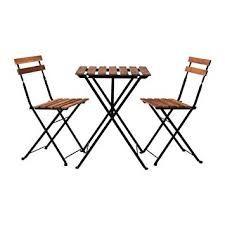 juego de sillas y mesa