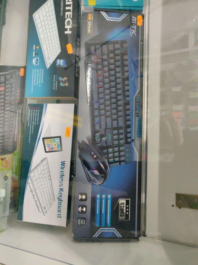 teclado gaming más ratón