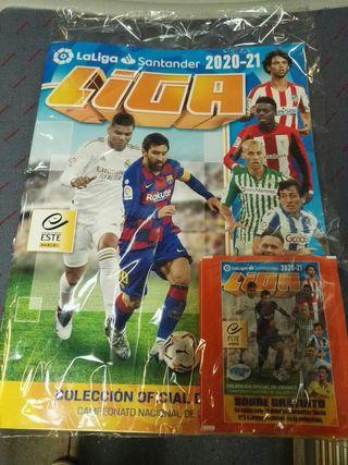 Album cromos Futbol Liga 2020