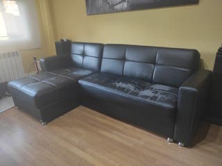 Sofa Cama Chaiselongue de polipiel